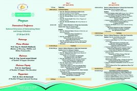 program of the international conferance